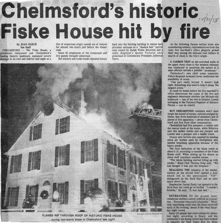 Fire department history 1970 1979 for Facts about house fires