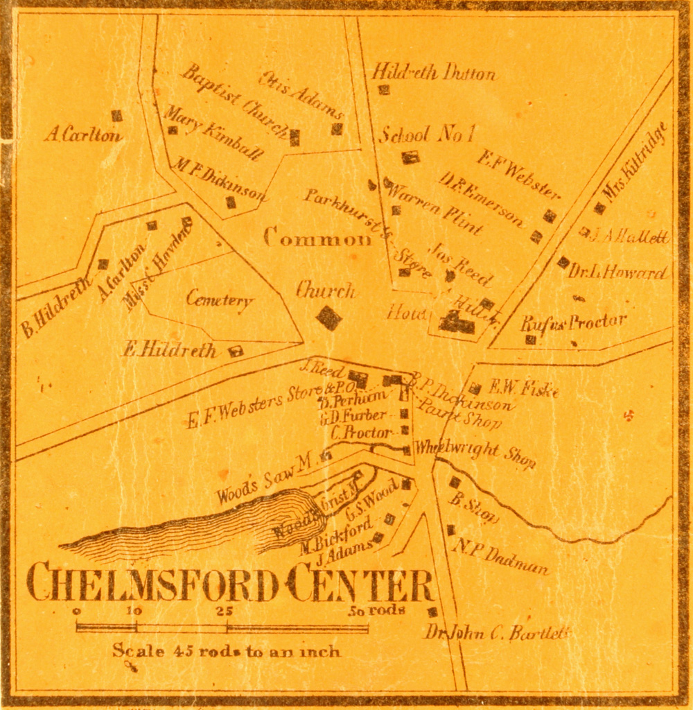 Chelmsford Historical Commission Historic Maps Page